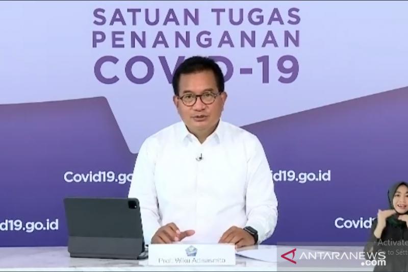 Satgas COVID-19: Zona merah di Indonesia terus berkurang