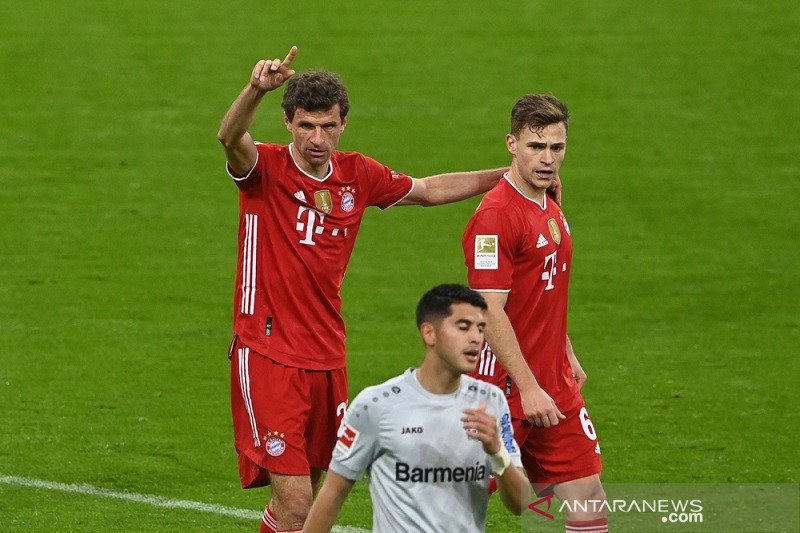 "Liga Jerman - Bayern Muenchen ""kunci"" gelar juara setelah tundukkan Leverkusen 2-0"