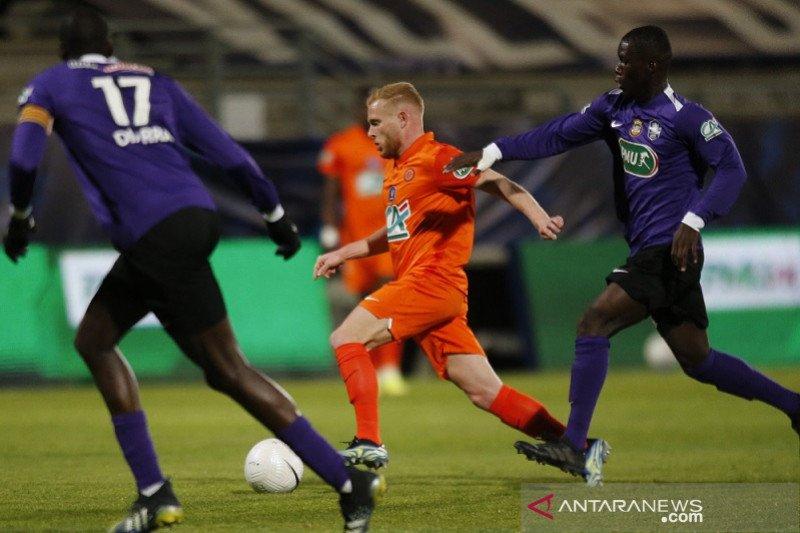 Tim kasta keempat buat kejutan, Montpellier ke semifinal Piala Prancis