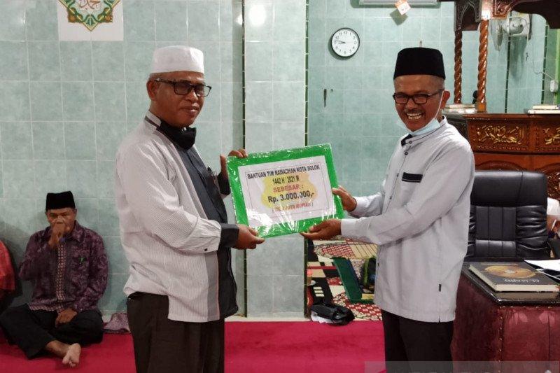 Tim III Safari Ramadhan Pemkot Solok sampaikan program ini di Masjid Nurul Yaqin