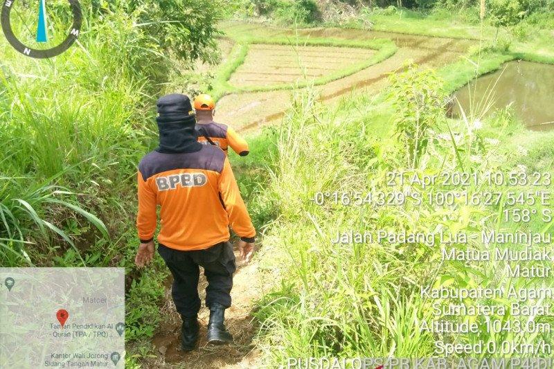 Seorang warga Sidang Tanggah Agam dilaporkan hilang sejak Selasa