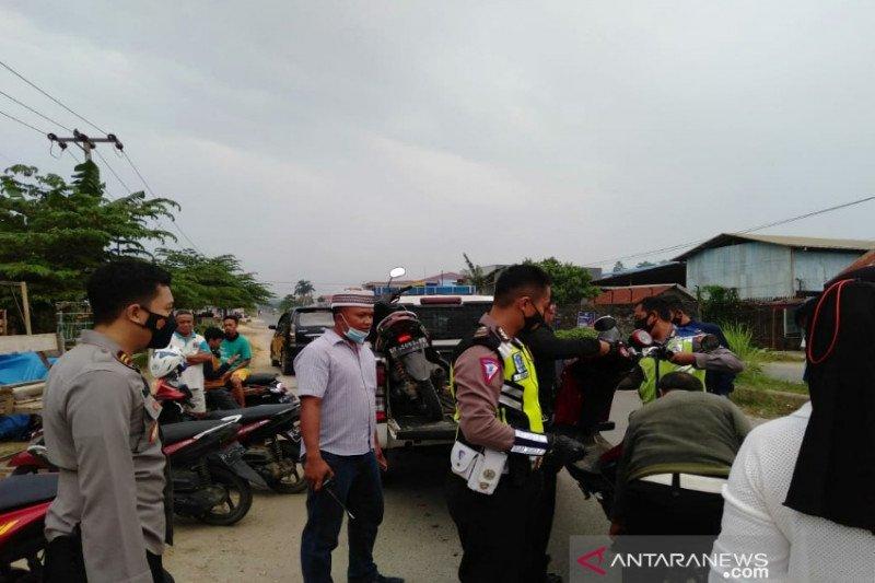 Polisi tertibkan aksi balapan liar saat Ramadhan