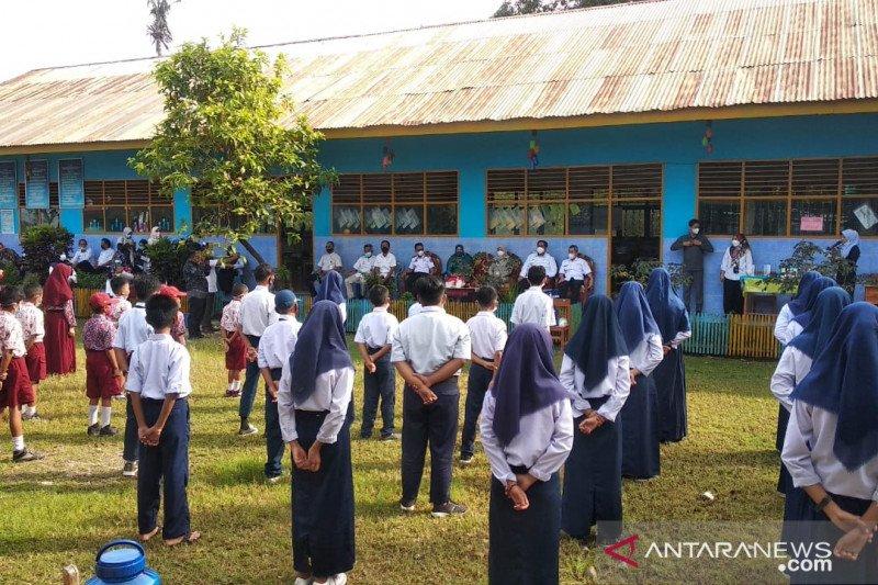 Pemkab Maros uji coba pembelajaran tatap muka di lima sekolah