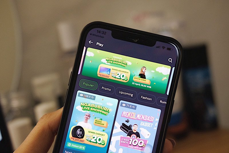 Sosok Kartini di balik Tokopedia Play