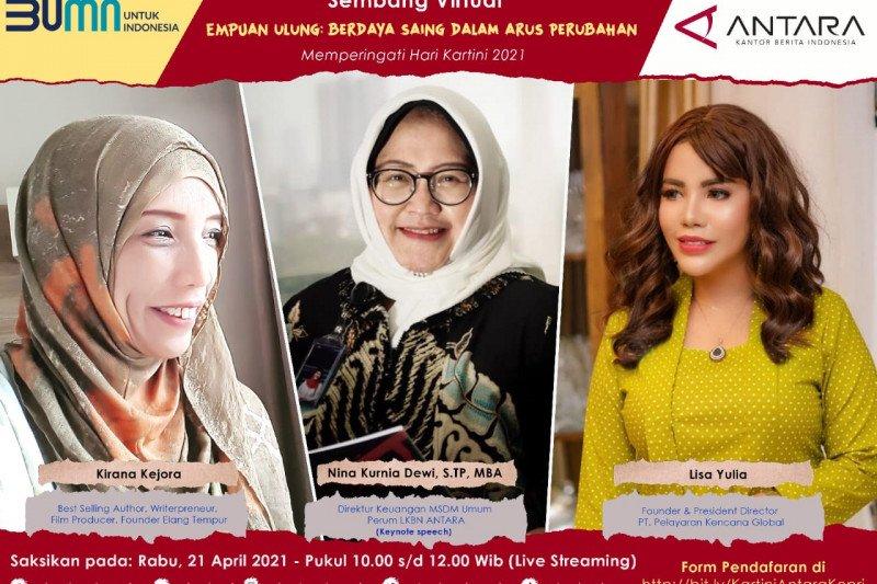 Perempuan Indonesia  diajak jadi pemicu perubahan