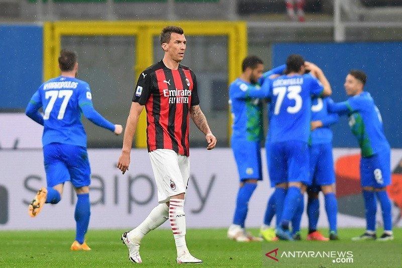 Sassuolo gagalkan upaya Milan dekati puncak klasemen