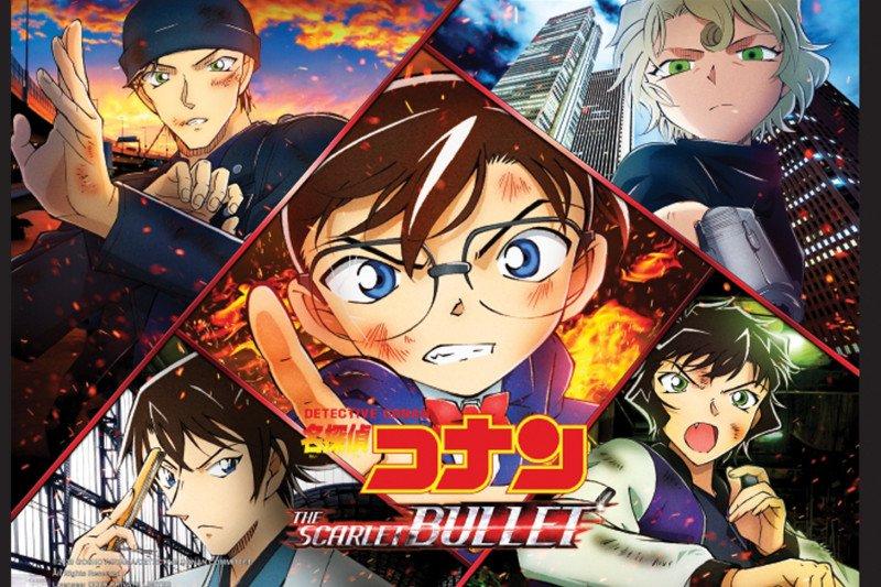 """""""Detective Conan:The Scarlet Bullet"""", misteri di kereta cepat"""