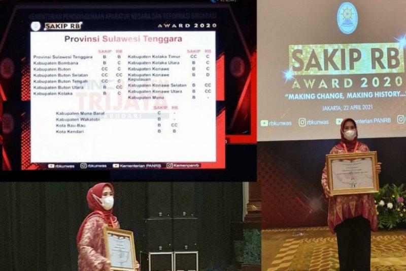Pemkot Kendari raih penghargaan SAKIP Award 2020 predikat-B dari Menpan-RB