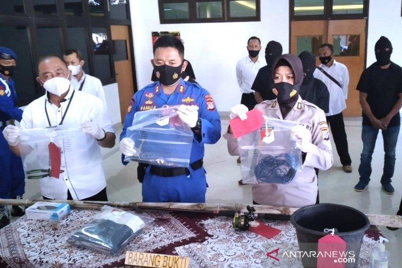Polda DIY menetapkan tujuh tersangka penangkapan penyu lekang