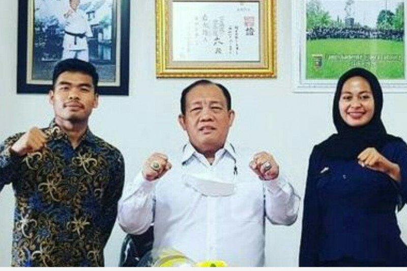 Dua karateka Lampung perkuat tim Indonesia ke SEA Games