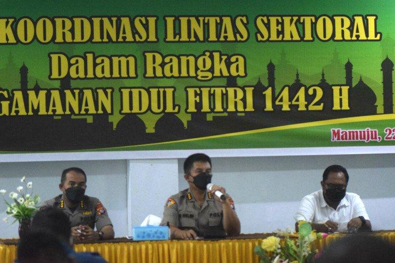 Polda Sulbar siagakan 1.125 personel pengamanan larangan mudik Lebaran