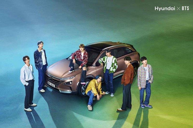 Hyundai menggandeng BTS merilis video Hari Bumi