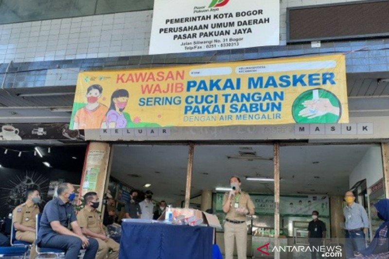 Dua pasar rakyat di Kota Bogor bersertifikat SNI
