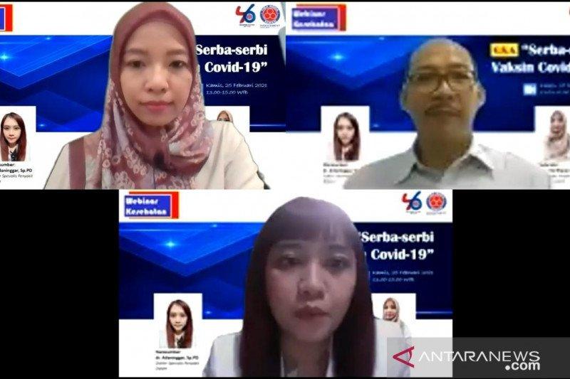 576 kader kesehatan Kabupaten Bogor dilatih tangkal hoaks soal vaksin COVID-19
