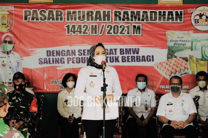 Pemkab Tulang Bawang gelar Pasar Murah Ramadhan