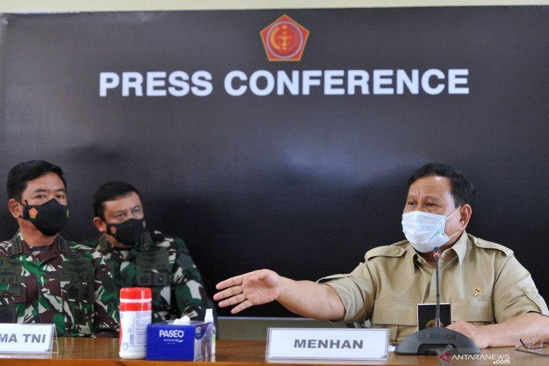 Menhan: Negara utang budi kepada 53 prajurit KRI Nanggala-402 yang gugur