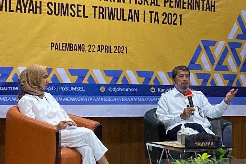 Realisasi belanja APBN di Sumsel tembus 25 persen pada triwulan I 2021
