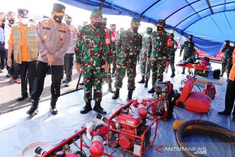 Satgas Karhutla Sumsel tingkatkan kegiatan patroli darat dan udara