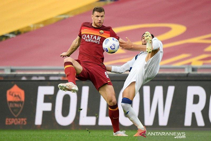 Liga Italia, Roma tahan imbang Atalanta sementara Napoli gebuk Lazio