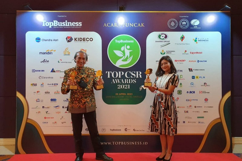 PT Taman Wisata Candi Borobudur, Prambanan, Ratu Boko raih tiga penghargaan TOP CSR Awards 2021