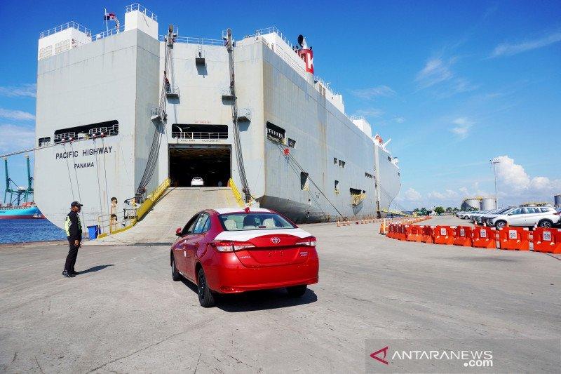 Toyota Indonesia ekspor 49.200 mobil CBU kuartal 1 2021