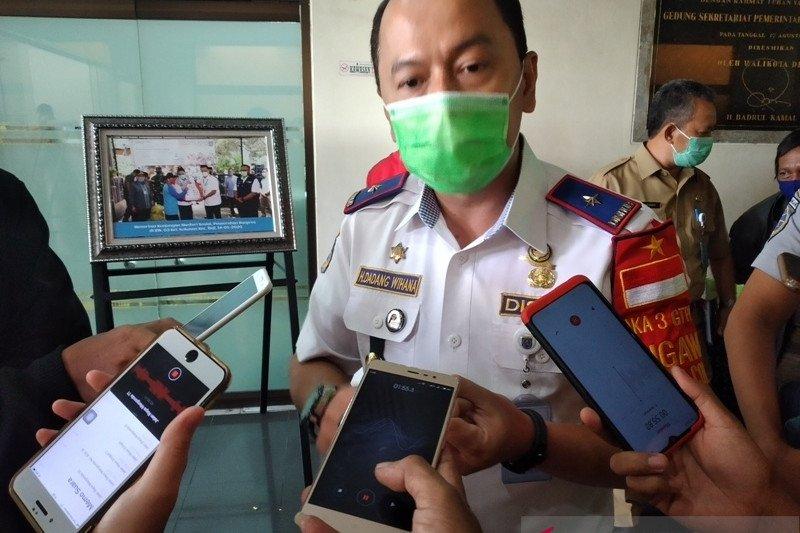 Dishub Depok monitoring penumpang bus di Terminal Jatijajar
