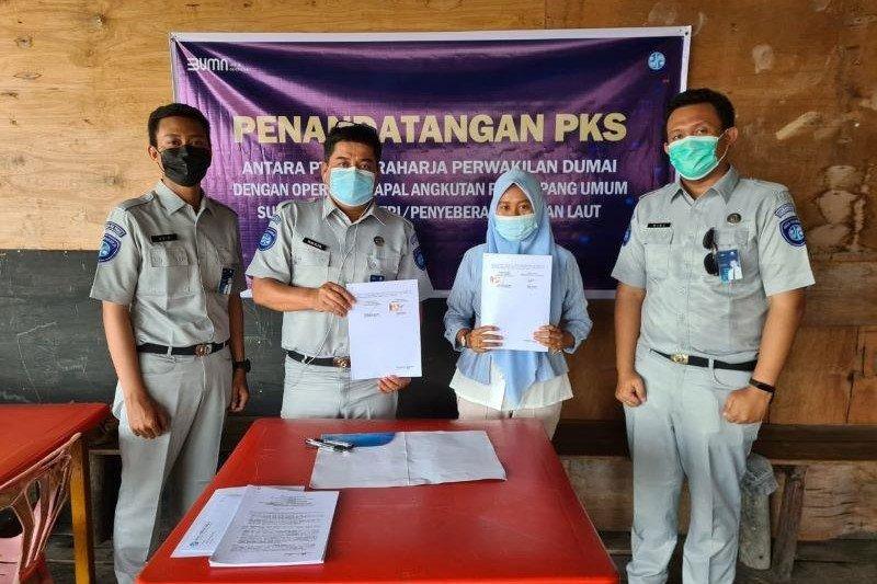 Jasa Raharja Dumai lindungi penumpang speedboat dari Selatpajang menuju Teluk Belitung