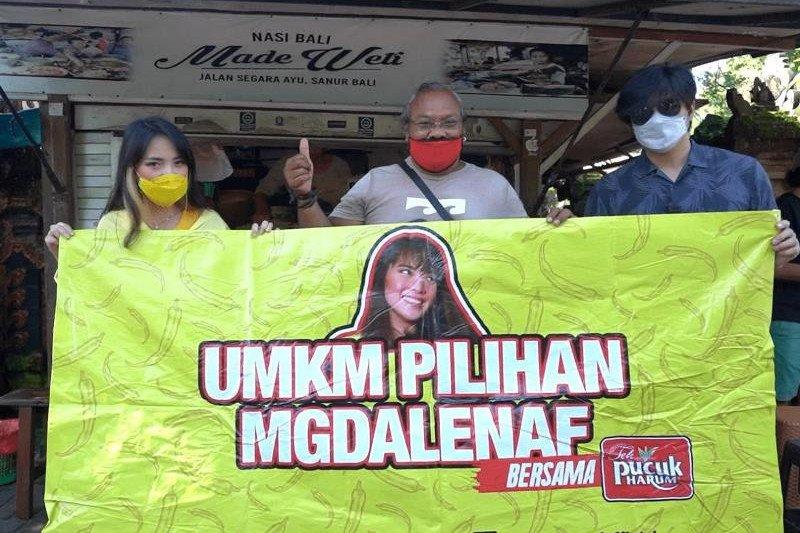 Magdalena dan Teh Pucuk Harum mendukung UMKM kuliner terdampak COVID-19