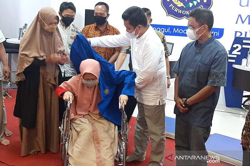 Seorang penyandang disabilitas asal Banjarnegara resmi menjadi mahasiswa UMP