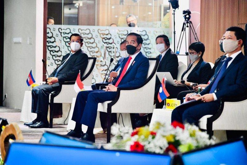 President Jokowi calls for immediate halt to Myanmar violence