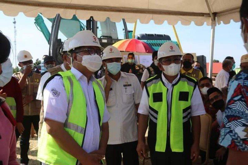 Kantor Gubernur Sulbar mulai dibangun pascagempa