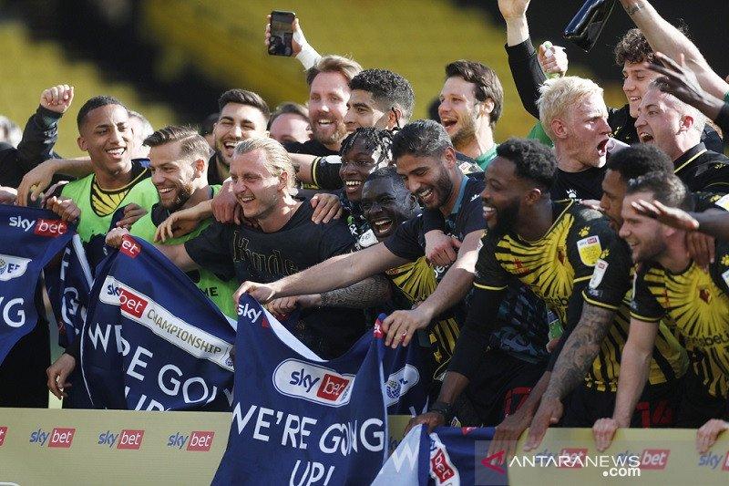 Watford susul Norwich City promosi ke Liga Premier