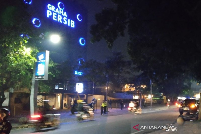 Polisi Bandung amankan 10 oknum bobotoh yang ricuh depan kantor Persib