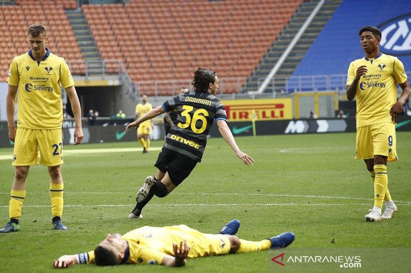 Inter taklukkan Verona 1-0,  Juventus diimbangi Fiorentina 1-1