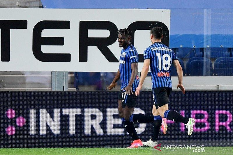 Menang telak atas Bologna, Atalanta naik posisi kedua klasemen Liga Italia