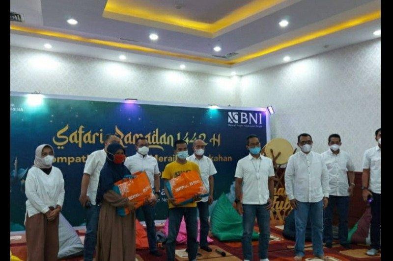 """BNI gelar safari Ramadhan 1442 H di Kota Padang berbagi """"Bersama Meraih Keberkahan"""""""
