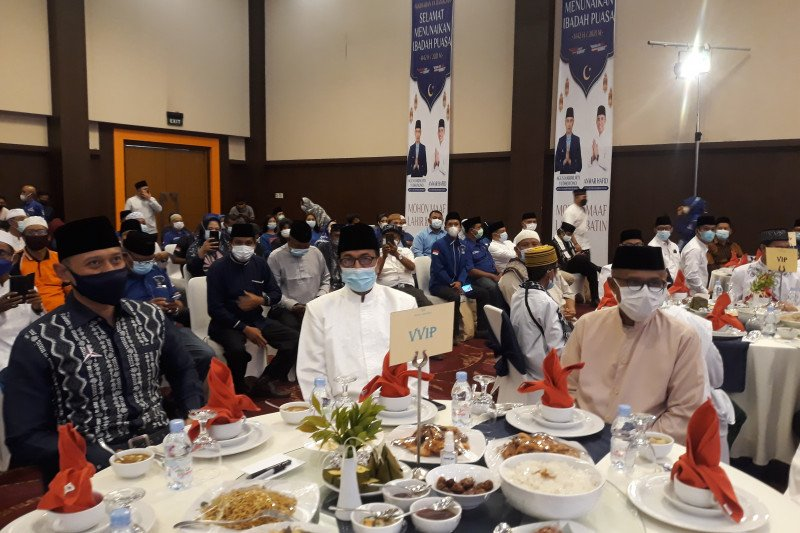 Agus Yudhoyono kemukakan ulama dan pemimpin harus bersatu bangun bangsa
