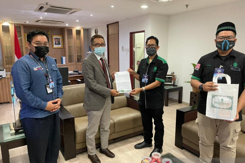 ABIM kunjungi KBRI Kuala Lumpur sampaikan duka KRI Nanggala 402