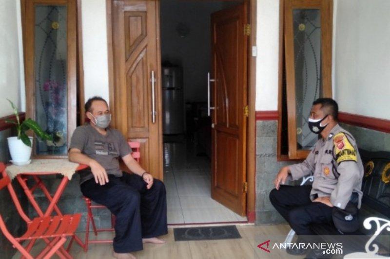 Polres Sumedang sebar Bhabinkamtibmas untuk cari dan data pemudik