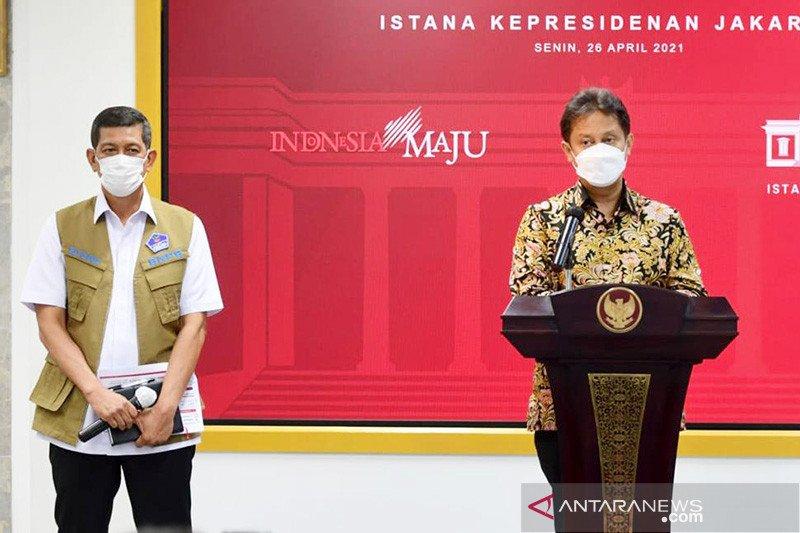 Menkes: Tiga varian virus corona sudah masuk ke Indonesia