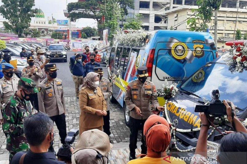 RS Bhayangkara Palembang luncurkan 'mobile vaksinasi' COVID-19