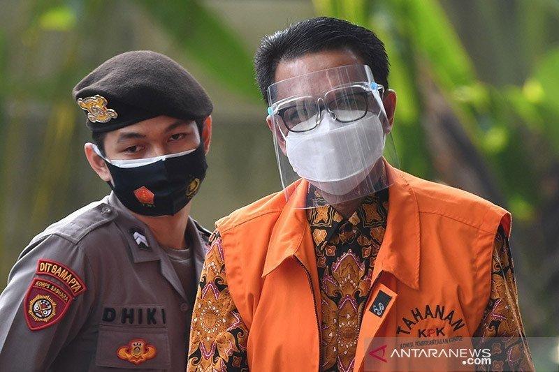 KPK kembali perpanjang penahanan Gubernur Sulsel nonaktif Nurdin Abdullah