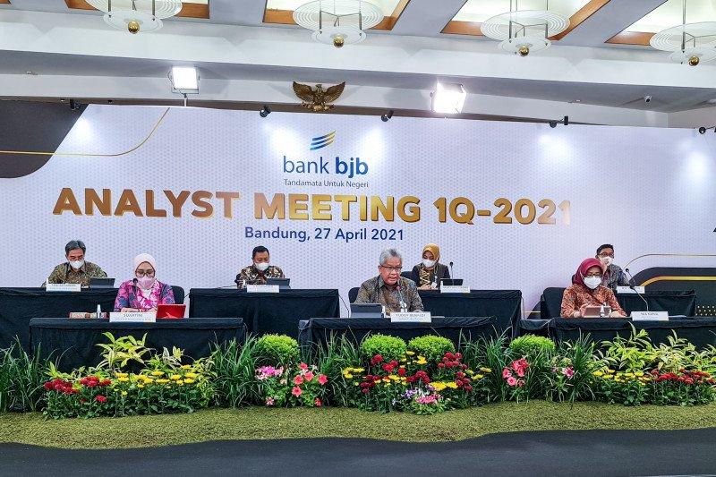 Bank BJB catatkan kinerja positif pada triwulan pertama 2021
