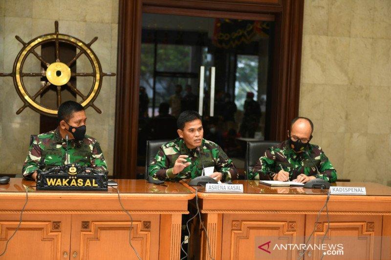 TNI AL terus berupaya evakuasi KRI Nanggala-402 di perairan Bali