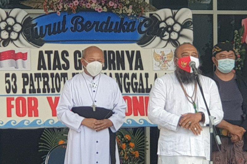 Warga Yogyakarta gelar doa bersama untuk awak KRI Nanggala-402