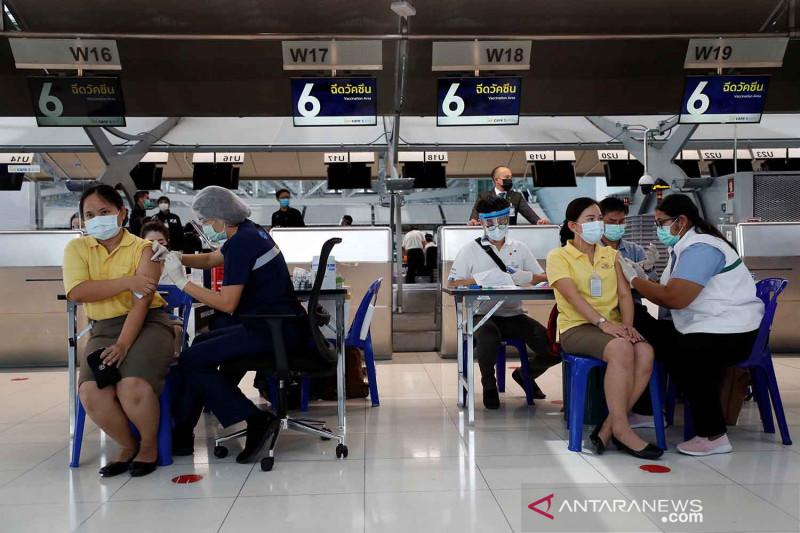 Thailand campur vaksin Sinovac dan AstraZeneca tingkatkan perlindungan, hasilnya?
