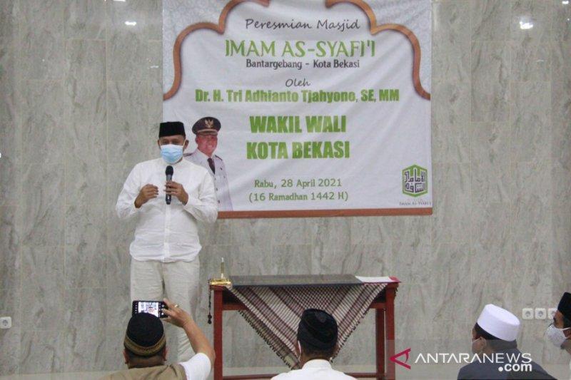 Masjid Imam Syafii Bantargebang diresmikan Wawali Bekasi