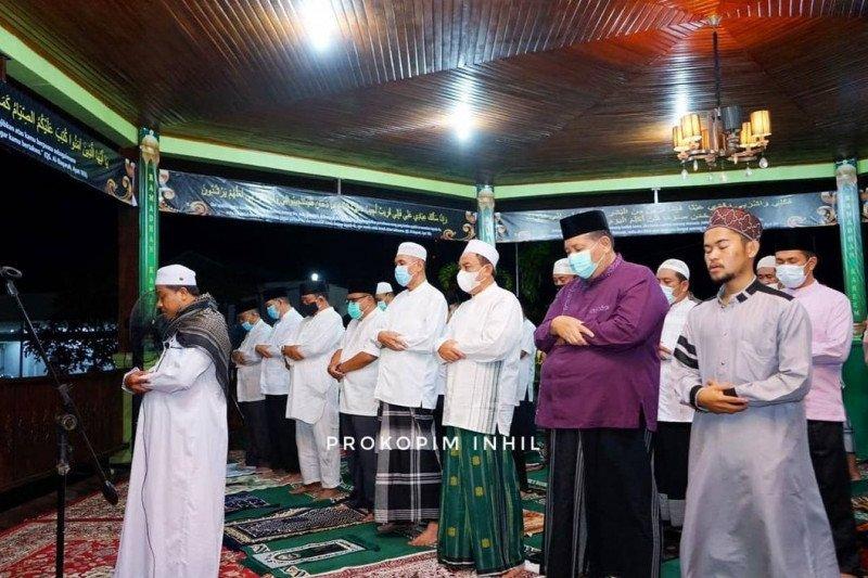 Bupati Inhil ajak masyarakat dirikan sholat di malam Ramadhan