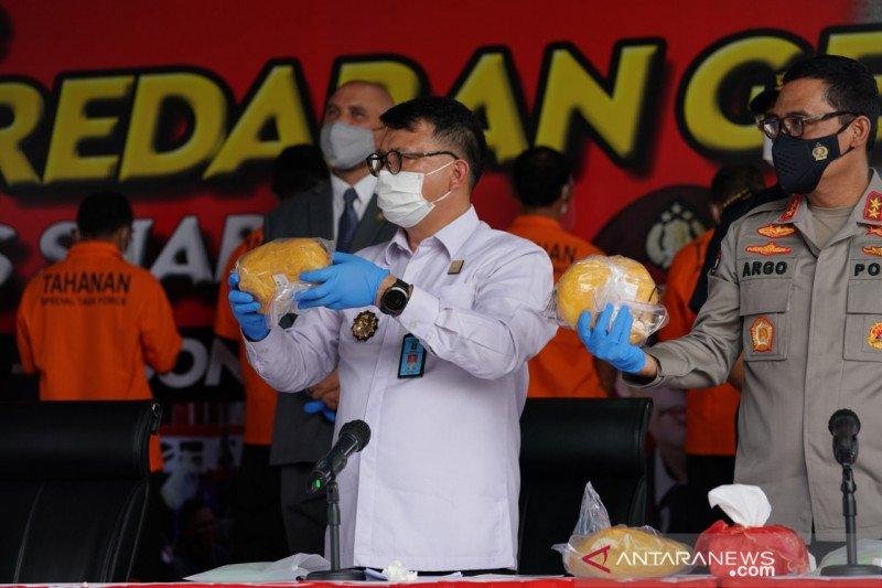 Kemenkumham ikut bantu ungkap 2,5 ton narkoba jaringan internasional