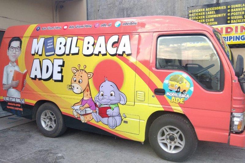Anggota DPRD Lampung segera luncurkan maskot Mobil Baca Ade